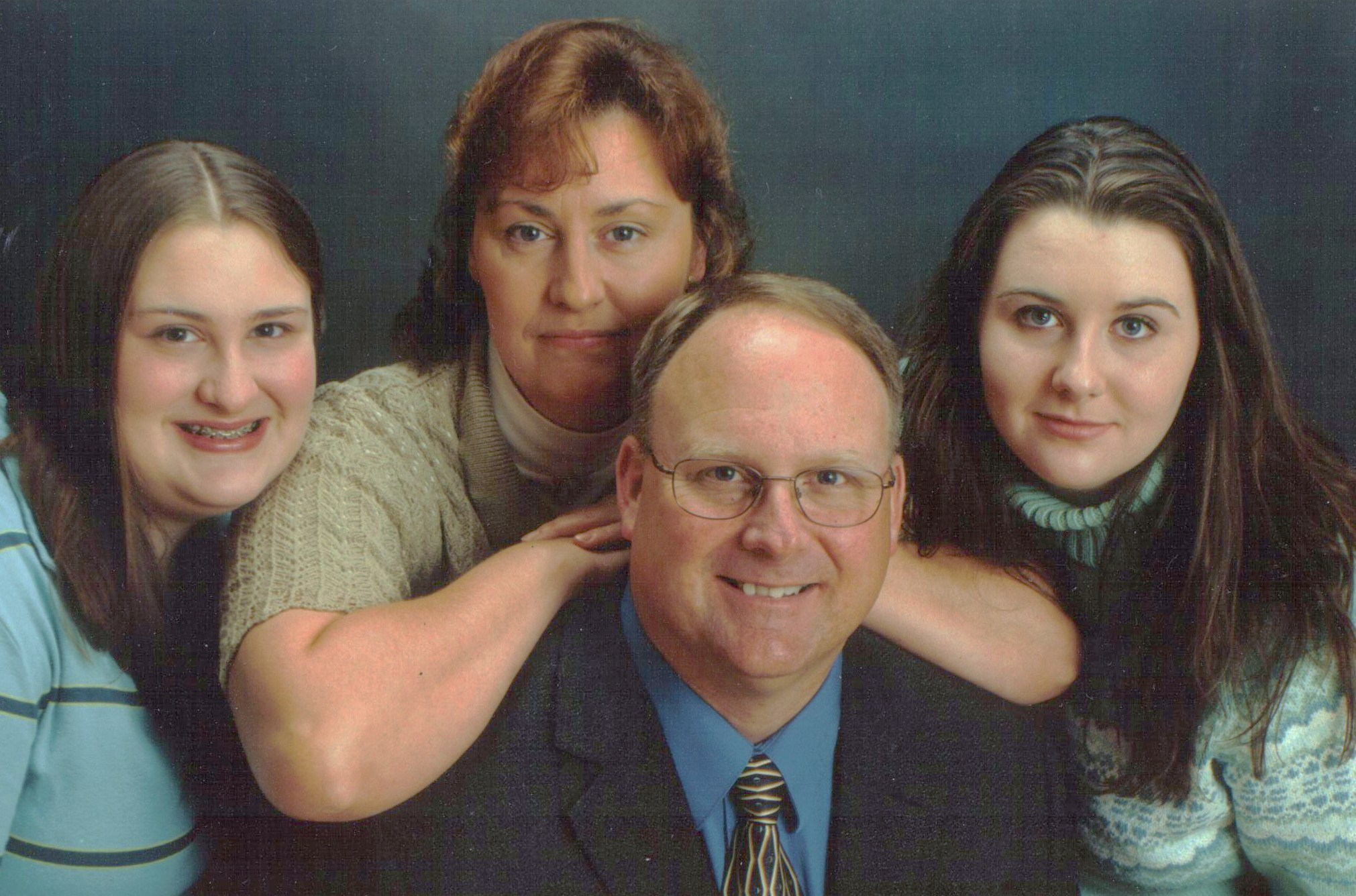 Pastor Mike, Trudy, Heather and Rachael
